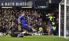 Chelsea's Spanish striker Fernando Torres
