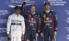 Lewis Hamilton, left, has not joined Mark Webber, right, in criticising tyre manufacturer Pirelli