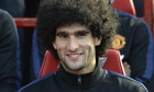 Manchester United's Marouane Fellaini is wanted by Belgium to train with a s