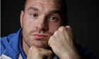 British heavyweight boxer Tyson Fury is due to fight David Haye in Manchester on 8 February