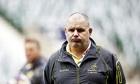 Australia's head coach Ewen McKenzie loo