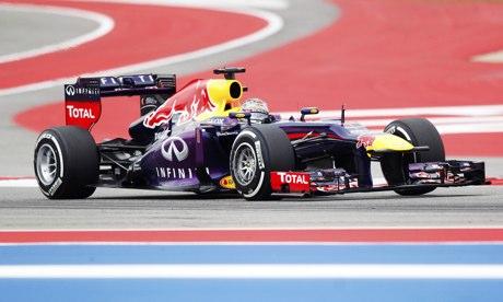 Sebastian Vettel US Grand Prix