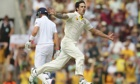Mitchell Johnson of Australia