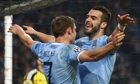 Álvaro Negredo James Milner Manchester City