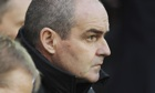 West Brom's manager Steve Clarke during his team's 1-0 Premier League defeat against Cardiff City