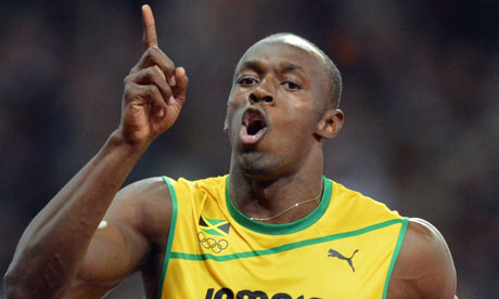 Usain Bolt beaten