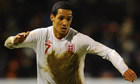 Tom Ince in action for England Under-21