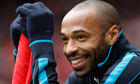 Thierry Henry, the former Arsenal player