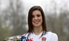 England's women's rugby captain Sarah Hunter