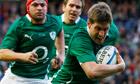 Ronan O'Gara in action for Ireland