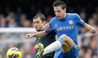 César Azpilicueta in action for Chelsea