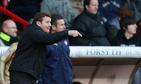 Sheffield United's Danny Wilson