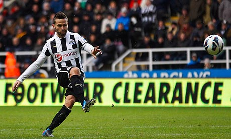 Yohan Cabaye  Newcastle United