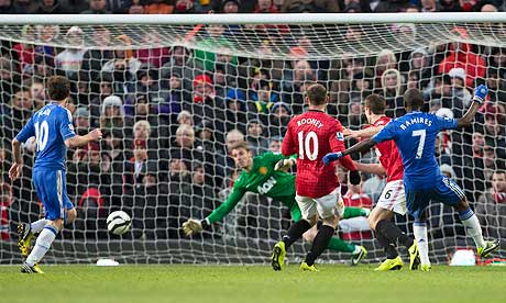 Manchester United 2 Chelsea 2: match report