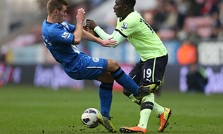 Callum McManaman of Wigan 008 Yaya wants a new City deal (by Saturday), Carrick to play in Englands defence & Juventus chase Suarez