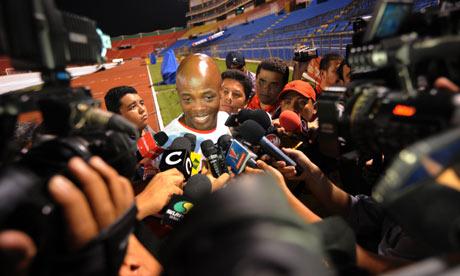 Panama coach Julio Dely Valdes