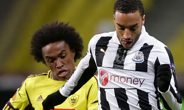 Anzhi vs Newcastle United