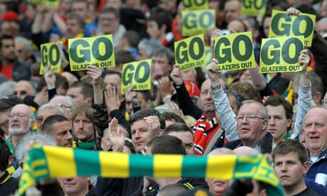 Manchester United protestors
