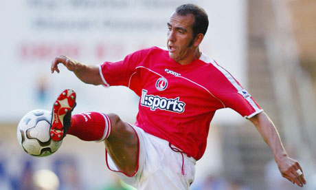 Paolo Di Canio, now Sunderland's manager, playing for Charlton