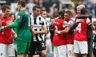 Arsène Wenger Theo Walcott Arsenal