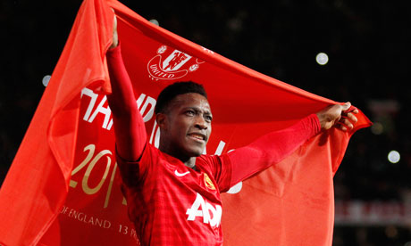 Danny Welbeck of Manchester United