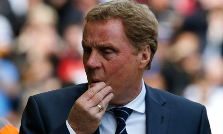 Harry Redknapp watches QPR lose to Liverpool