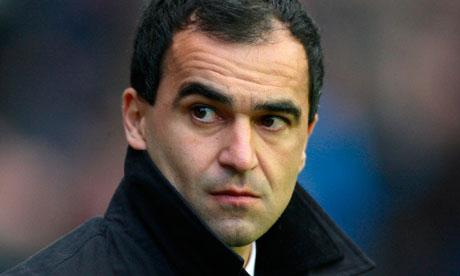 Roberto Martínez, the new Everton manager