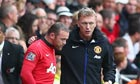 David Moyes sends Wayne Rooney on in Manchester United's 4-1 win at Swansea