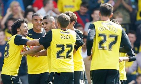 Lewis Mcgugan Free Kick Watford Watford's Lewis Mcgugan Ends