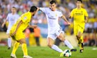 Gareth Bale in action for Real Madrid v Villarreal