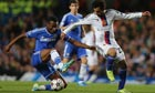 Mikel John Obi in action for Chelsea in their 2-1 defeat to Basel.