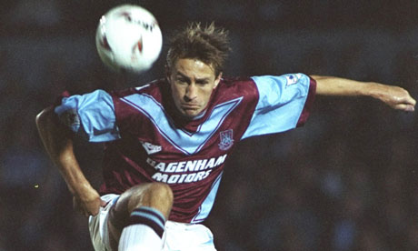 West Ham United forward Lee Chapman