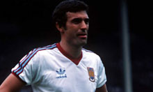 West Ham's Trevor Brooking