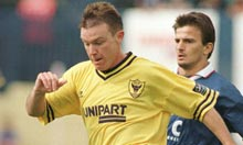 Joey Beauchamp, back with Oxford in 1998
