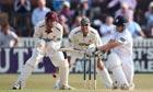 Ben Slater of Derbyshire sweeps as Somerset wicketkeeper Craig Kieswetter looks on