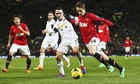 Manchester United v Swansea City - Barclays Premier League