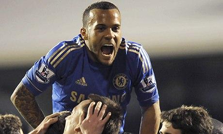 Chelsea's English defender Ryan Bertrand