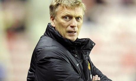 David Moyes, Manchester United manager