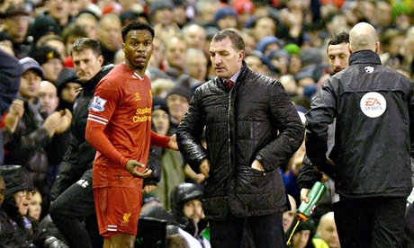 Liverpool's Daniel Sturridge says sorry for spat with Brendan Rodgers