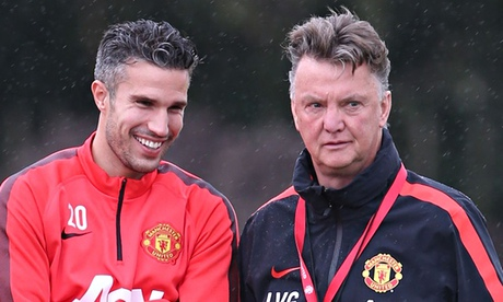 Louis van Gaal: Robin van Persie has to fight for Manchester United place