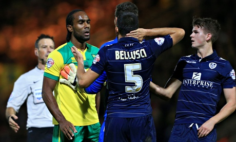 Leeds' Giuseppe Bellusci charged with racist abuse of Cameron Jerome