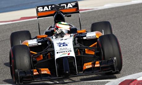 F1 Bahrain testing