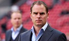 Coach Frank de Boer of Ajax