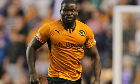 George Elokobi of Wolves