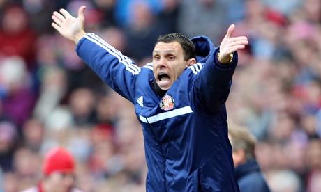 Gus Poyet, Sunderland manager