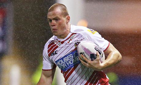 Joe Burgess Wigan Warriors