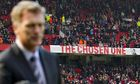 David Moyes at Old Trafford