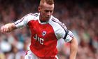 Perry Groves, former Arsenal forward