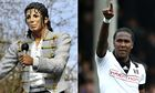 Michael Jackson and Hugo Rodellega