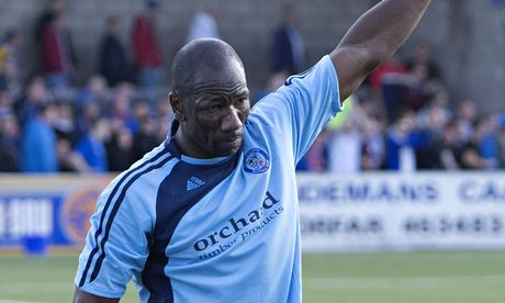 Forfar Athletic's Marvin Andrews